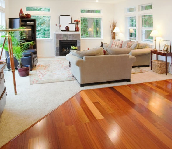 Laminate Wood Flooring Living Room Home